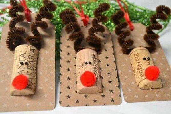 Χριστουγεννιάτικες διακοσμήσεις από πώματα φελλού24