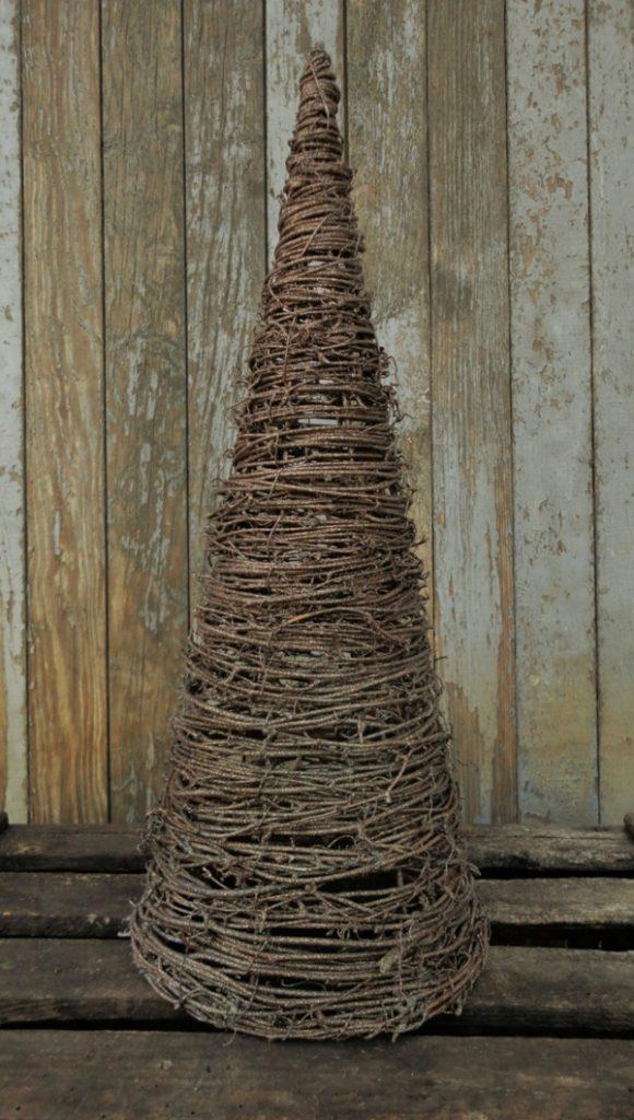 Rustic χωριάτικη Χριστουγεννιάτικη διακόσμηση20