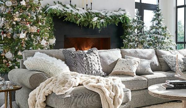Rustic χωριάτικη Χριστουγεννιάτικη διακόσμηση37
