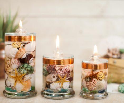 Κάντε φανταστικά διακοσμητικά κεριά gel μέσα σε λίγα λεπτά