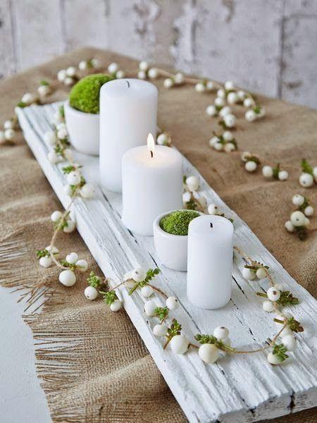 Χριστουγεννιάτικη διακόσμηση με κεριά26