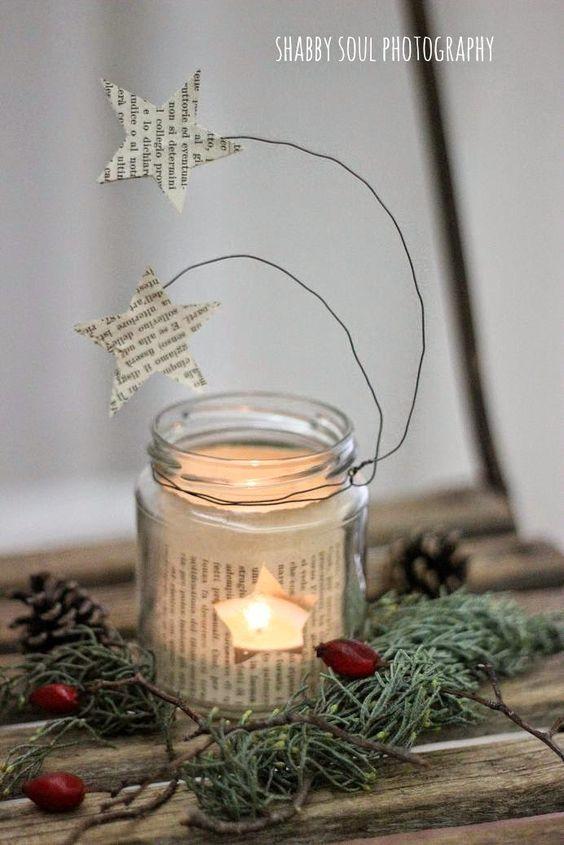 Χριστουγεννιάτικη διακόσμηση με κεριά30
