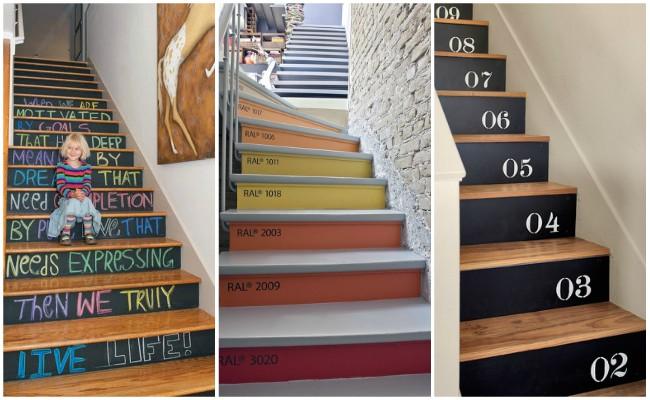 Απίθανες ιδέες για να ανανεώσετε τις σκάλες του εσωτερικού σας