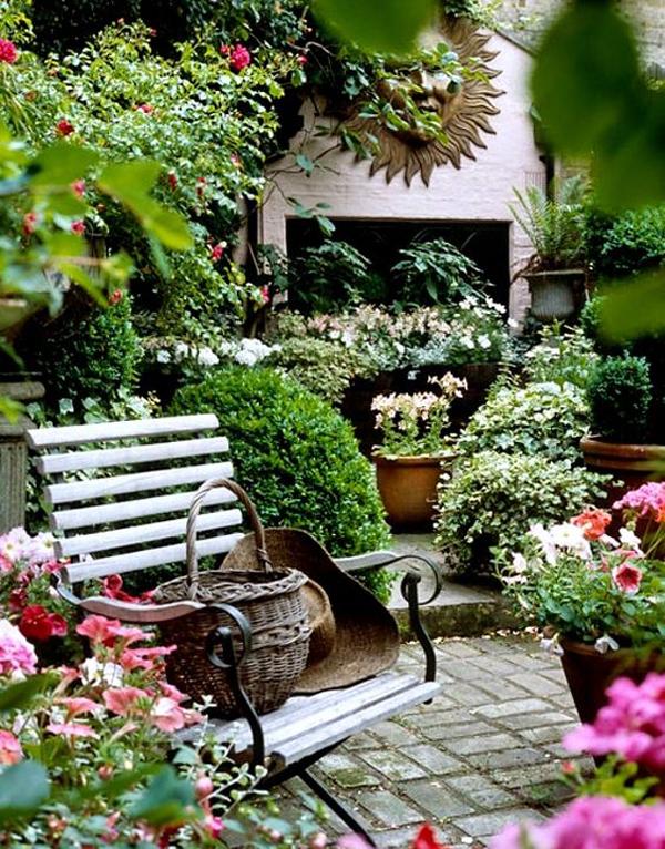 Shabby Chic ιδέες κήπου11