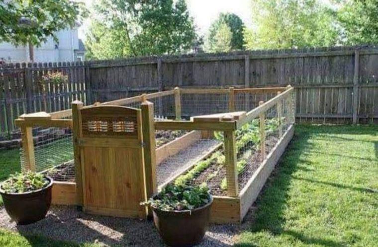 αστικός κήπος λαχανικών ιδέες16