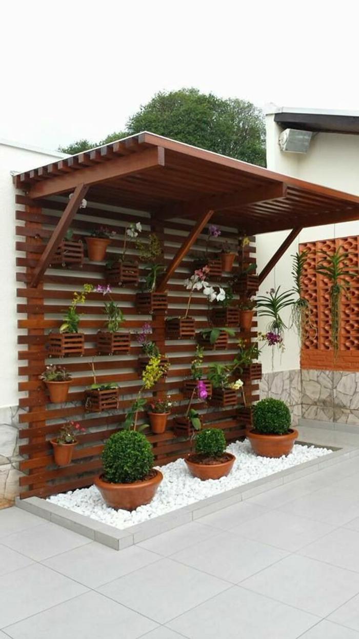 ιδέες για ντύσιμο και διακόσμηση ενός εξωτερικού τοίχου43