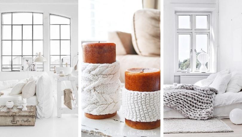 Απίστευτες λευκές ιδέες διακόσμησης για το σπίτι