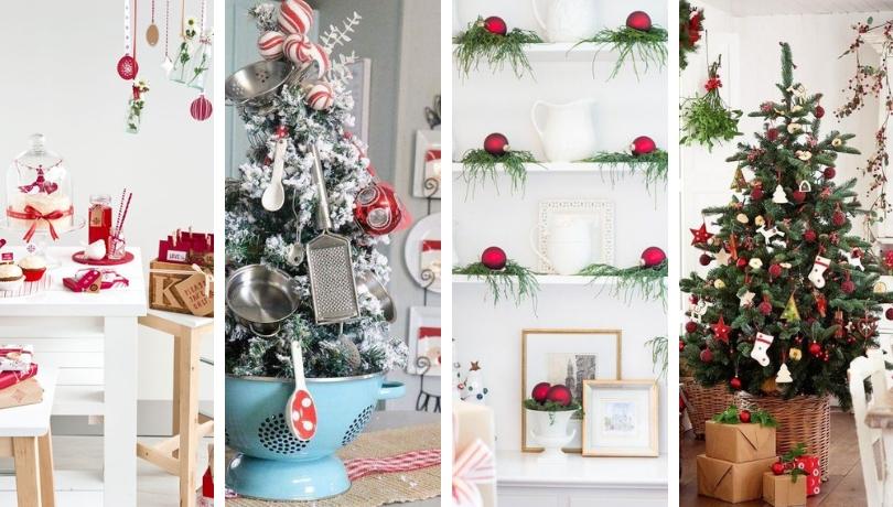 50 Ζεστές Χριστουγεννιάτικες ιδέες διακόσμησης κουζίνας