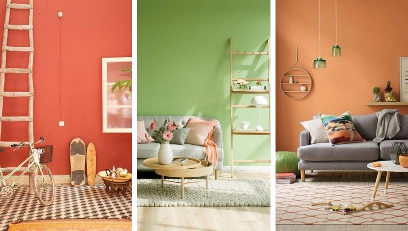 Εξαιρετικές ιδέες με ζεστά χρώματα διακόσμησης που δίνουν χαρακτήρα και δροσιά σε κάθε χώρο