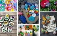 DIY ζωγραφική σε πέτρες - μπορεί να μειώσει το άγχος και να διακοσμήσει το σπίτι και τον κήπο σας