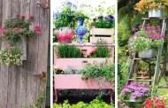 Vintage κήπος: 45 παιχνιδιάρικες DIY ιδέες διακόσμησης που μπορείτε να κάνετε μόνοι σας