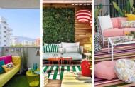 Καναπές στο μπαλκόνι: δείτε φωτογραφίες, συμβουλές και πώς να επιλέξετε τον δικό σας