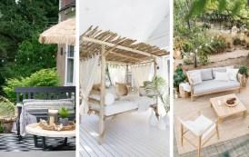 24 Φανταστικές ιδέες καθιστικού εξωτερικού χώρου για απίστευτη χαλάρωση