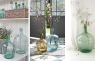36 Εκπληκτικές Ιδέες για χρήση vintage μπουκαλιών και νταμιτζάνων στην εσωτερική διακόσμηση