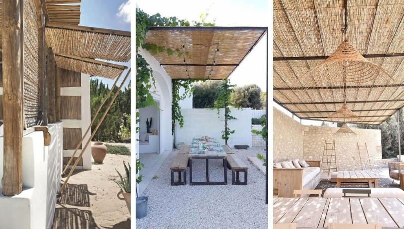 Πώς να προστατευτείτε από τον ήλιο στο μπαλκόνι τη βεράντα και την αυλή σας αυτό το καλοκαίρι - 25 έξυπνες DIY ιδέες έμπνευσης
