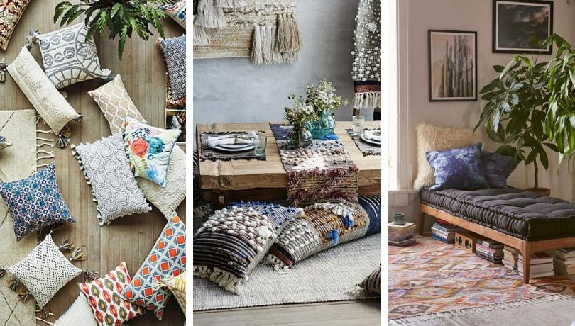 23 Ιδιαίτεροι τρόποι για να διακοσμήσετε ένα boho σαλονάκι χωρίς καναπέδες