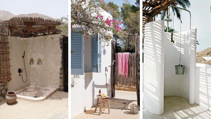 Καλοκαιρινό χωριάτικο εξωτερικό ντους - 33 υπέροχες ιδέες που θα σας ενθουσιάσουν