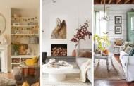 Φρέσκια δόση έμπνευσης και ιδέες για τα πιο όμορφα φθινοπωρινά σαλόνια