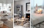 Ζεστές ιδέες διακόσμησης καθιστικού για ένα άνετο σπίτι τους κρύους μήνες του χειμώνα