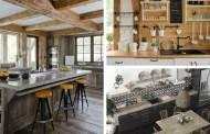 Σύγχρονη ρουστίκ κουζίνα: Έμπνευση και ιδέες που θα λατρέψετε