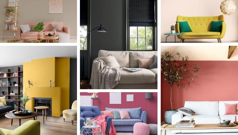 Μοντέρνες ιδέες με περισσότερα από 30 χρώματα για να βάψετε ξανά και να ανανεώσετε το σαλόνι σας