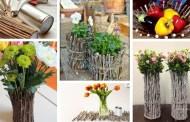 Το μόνο που χρειάζεστε είναι μερικά κλαδάκια και κόλλα: 48 ιδέες έμπνευσης για όμορφες και ρουστίκ διακοσμήσεις στο σπίτι