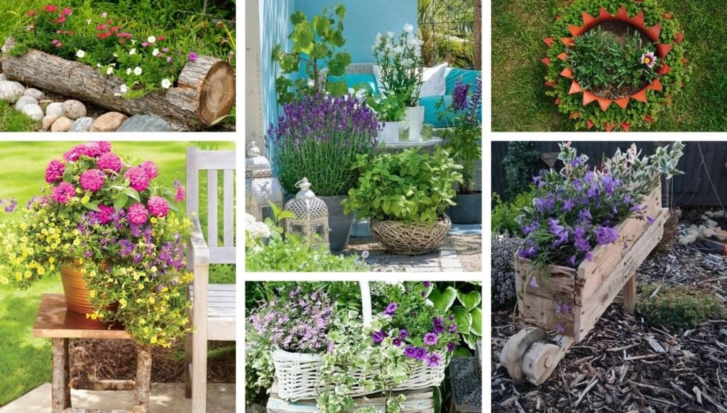 Διακόσμηση με λουλούδια για την αυλή και τον κήπο σας: 34 όμορφες ιδέες για την άνοιξη