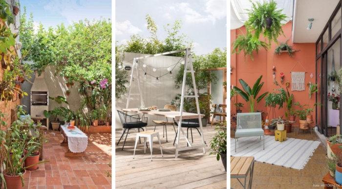 Μικρή αυλή: 40 απίθανες ιδέες για τέλεια χρήση του χώρου σας