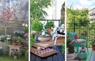 Κλειδιά για να ανανεώσετε και να απολαύσετε τη βεράντα - μπαλκόνι σας την άνοιξη