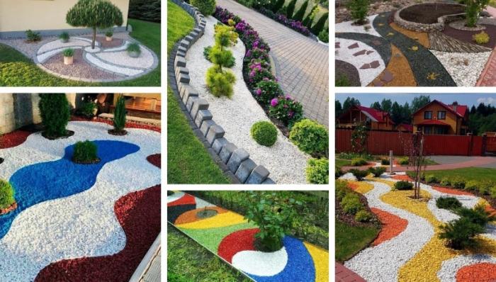 Διακοσμούμε τα παρτέρια μας με διακοσμητικό χαλίκι: 32 πρωτότυπες ιδέες που ανεβάζουν τον κήπο μας σε άλλο επίπεδο