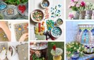 Φτιάξτε ψηφιδωτή διακόσμηση για τον κήπο - 22 εκπληκτικές ιδέες για το τι μπορείτε να σχεδιάσετε