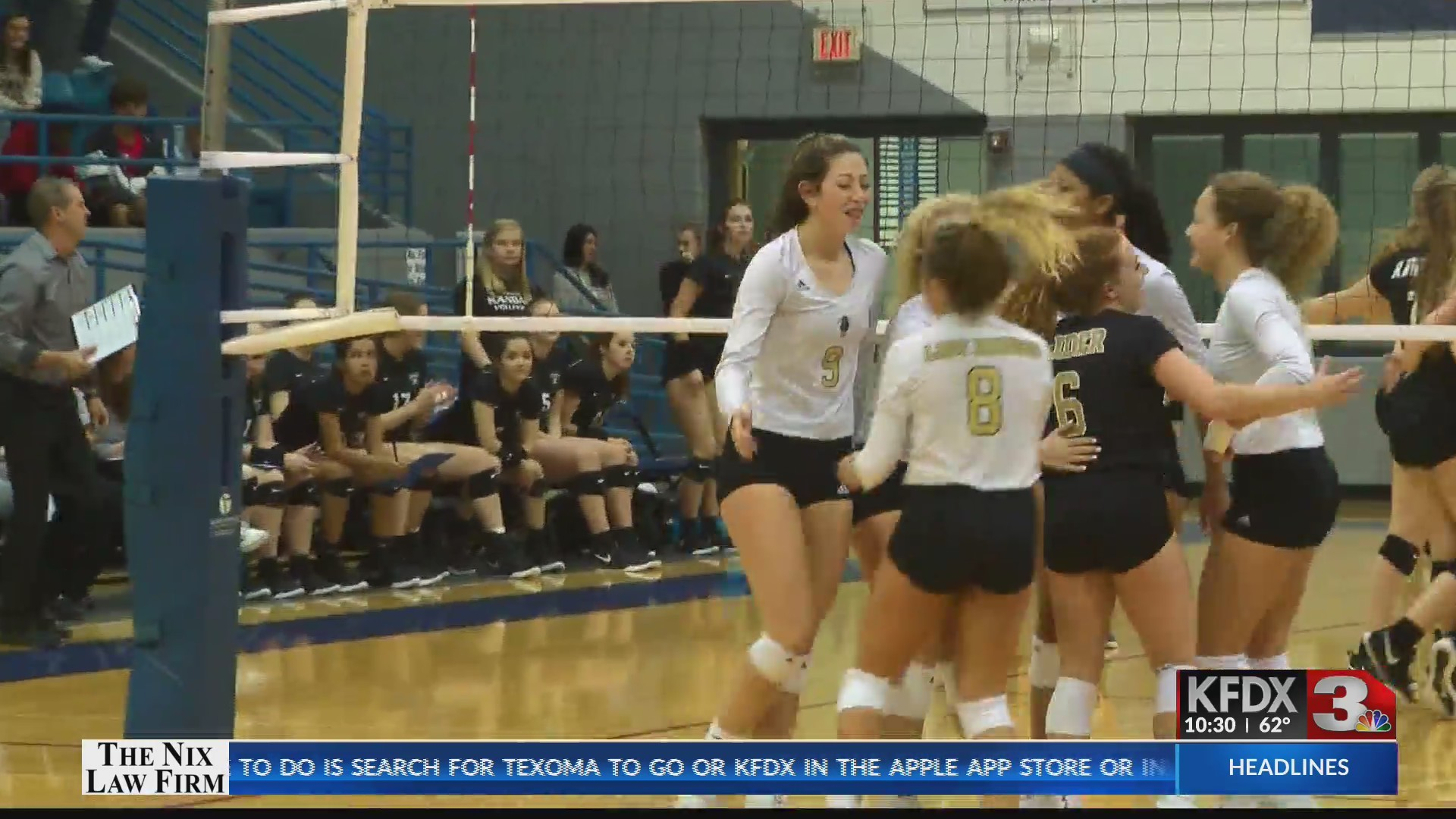 High School Volleyball: Rider vs Canyon Randall