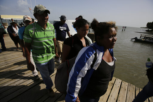 Survivors from Honduras fishing boat sinking tell of fears