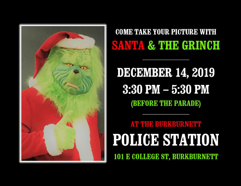 Burkburnett PD 'arrest' Grinch in time for weekend Christmas