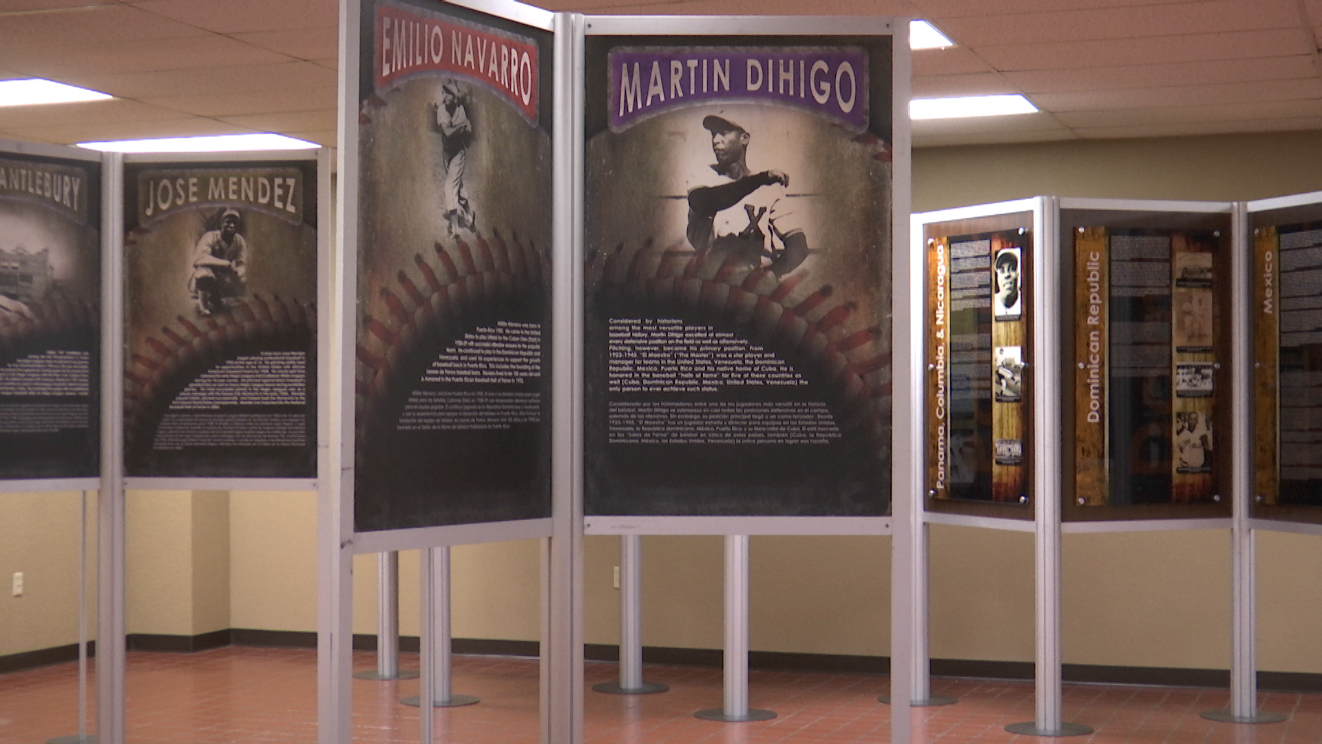 An exhibit that will be opening at the Museum of North Texas History highlighting the old Negro League Baseball and KFDX got an exclusive first look on the inside.