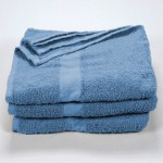 22 X 48 Porcelain Blue Economy Towel Texon Athletic Towel