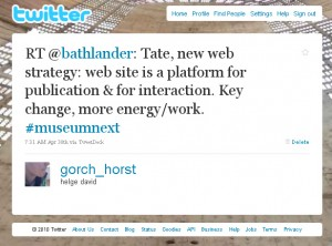 John Stack, Head of Tate Online