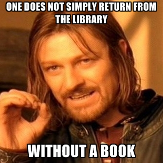 Image result for one does not simply book meme