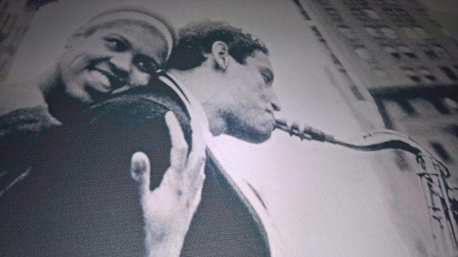 Para z saksofonem