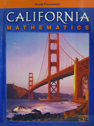 California Mathematics 6 Ca H By Bennett Groom Long