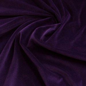 Catifea de bumbac violet