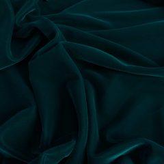 Catifea de matase verde-turquoise inchis