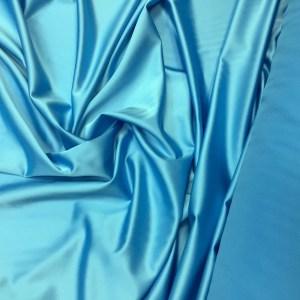 Tafta elastica premium bleu-turquoise