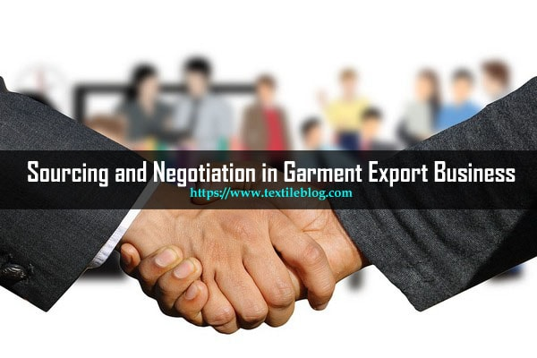Sourcing and Negotiation