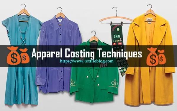 apparel costing techniques