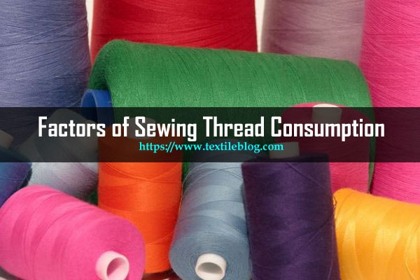 sewing thread consumption