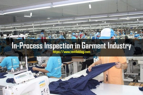 In-Process Inspection in Garment