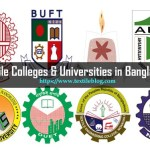 List of Textile Colleges and Universities in Bangladesh