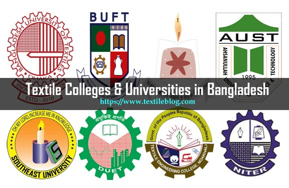 list of textile colleges and universities