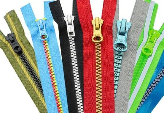 zipper important trimmings in garments